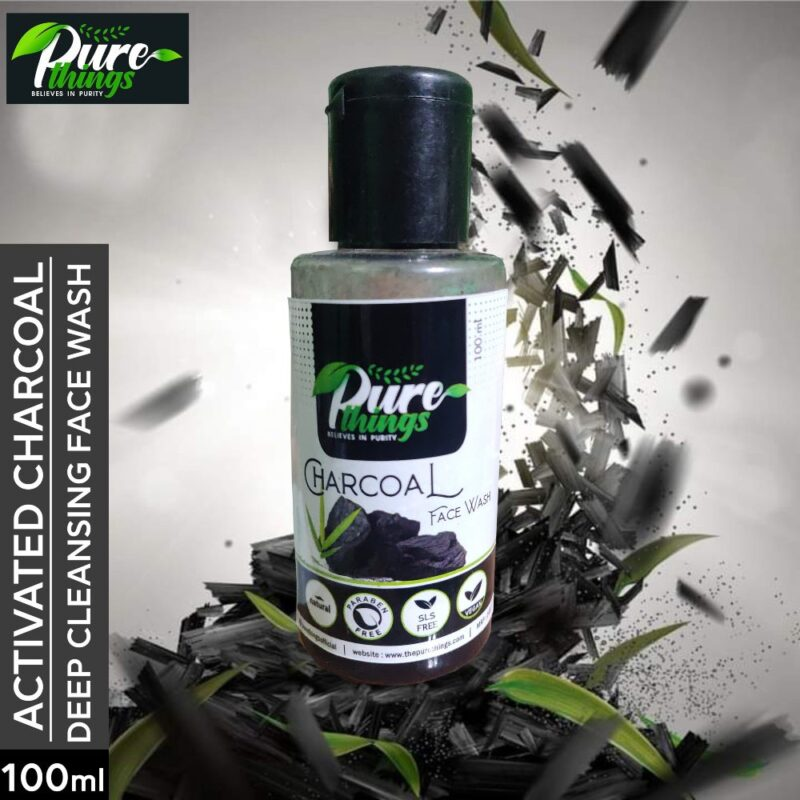 Pure Things Charcoal Face Wash