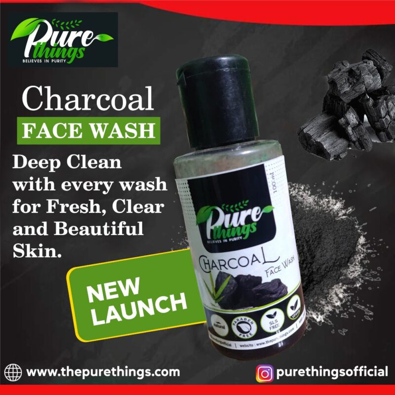Pure Things Charcoal Face Wash2